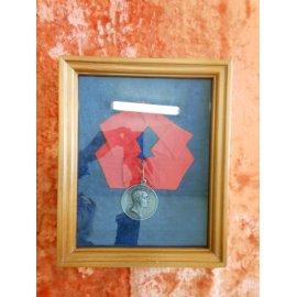Шейная медаль, Россия, За усердие, серебро 1812г, Николай I №259