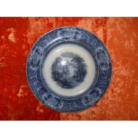 №46 Тарелка 19 век, Скаль синяя 414