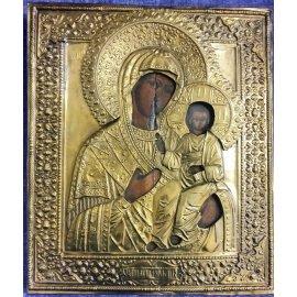 """Икона Божий матери с младенцем """"Смоленская"""" 322"""