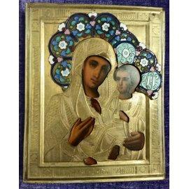 """Икона Божий матери с младенцем """"Тихвинскя"""" 325"""