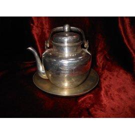 Комплект Чайник, Тарелка серебро SOLLDSILVER 270