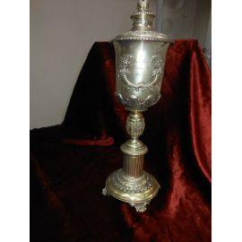 Кубок с крышкой наградной, надпись 1843г, 454гр 272