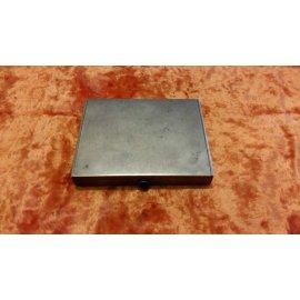 Портсигар квадратный 16.12.66г, 180гр, серебро 260