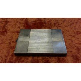 Портсигар прямоугольный серебро 875, вес 170г №7 265