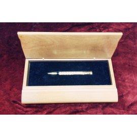 Ручка Gustov beker (серебро, позолота) Час.дел мас 371