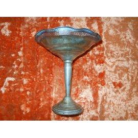 Фруктовница 19 век, серебро 210гр., Германия