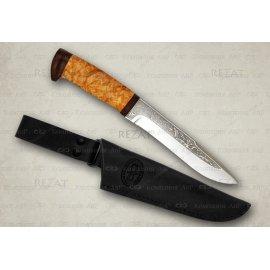 ШАМАН-1 нож карельская береза