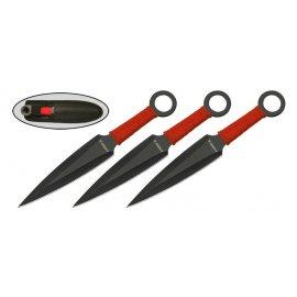 МS005N3 набор 3-х ножей хоз.-быт. нейлон. чехлом
