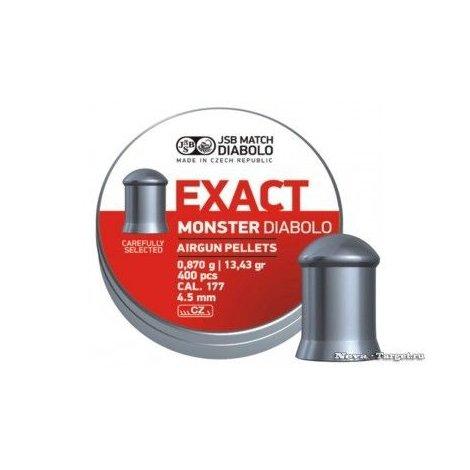 4,5 JSB Exact Monster Diabolo 400шт 0,87г