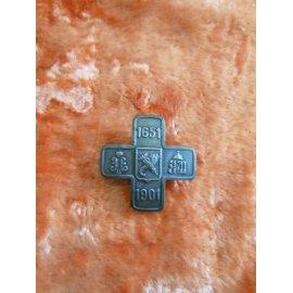 №316 Знак полковой Гусарского полка 1601-1901гг 400