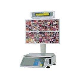 Весы с термопринтером DIGI SM-300BS для самообслуживания с таблом 15 кг