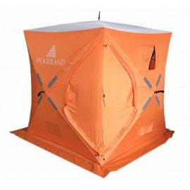 Палатка зимняя WOODLAND ICE FISH 4,180х180х210 оранжевая