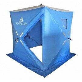 Палатка зимняя WOODLAND ICE FISH 4,180х180х210 синяя